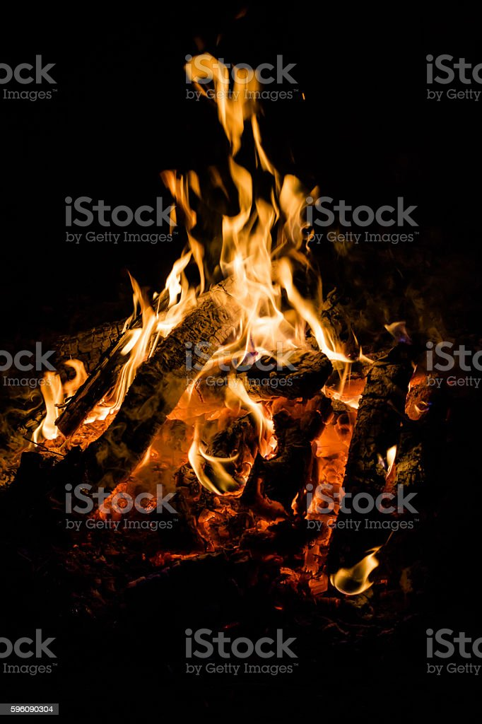 bonfire royalty-free stock photo