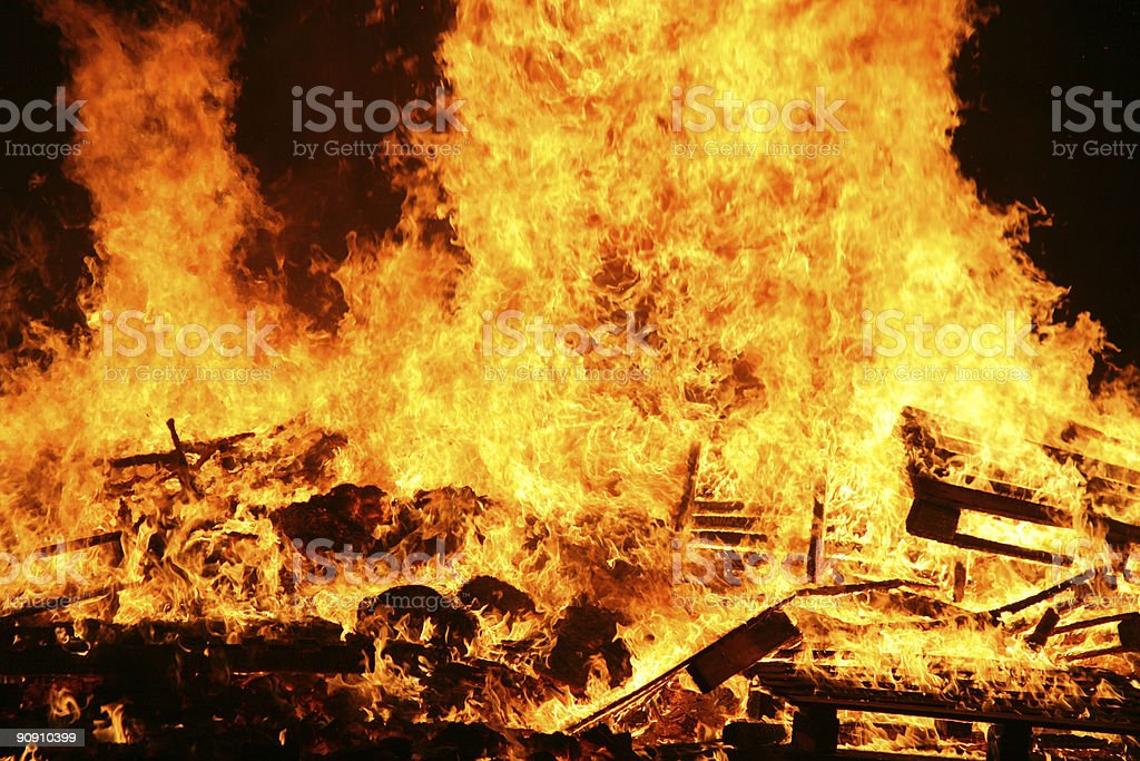 Bonfire2 royalty-free stock photo
