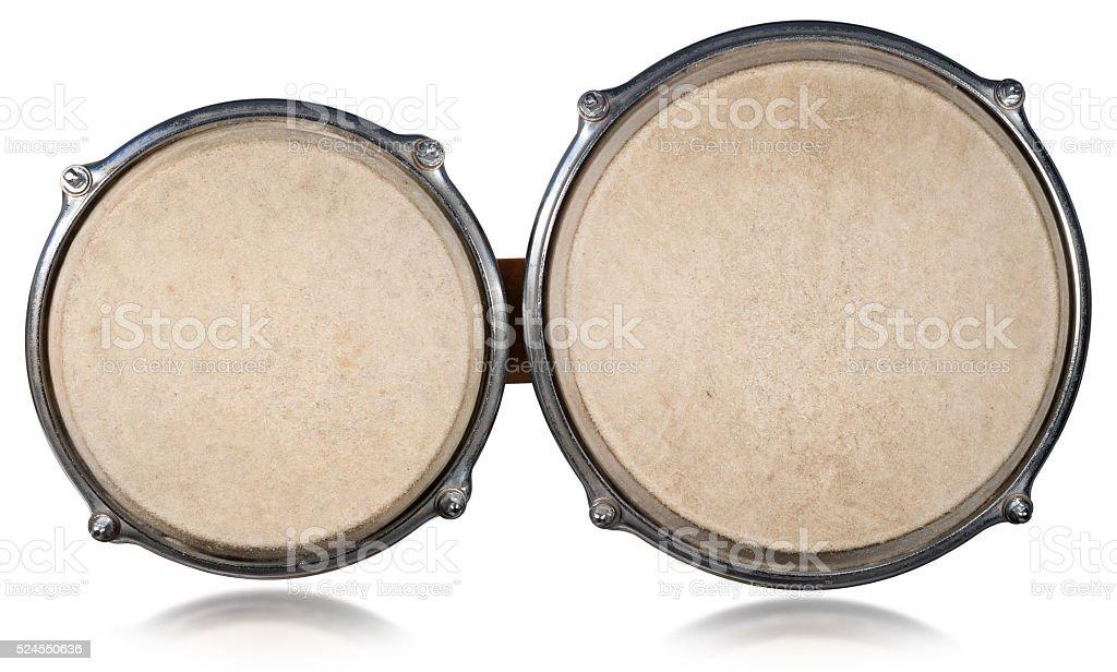 Bongo drums - Top View stock photo