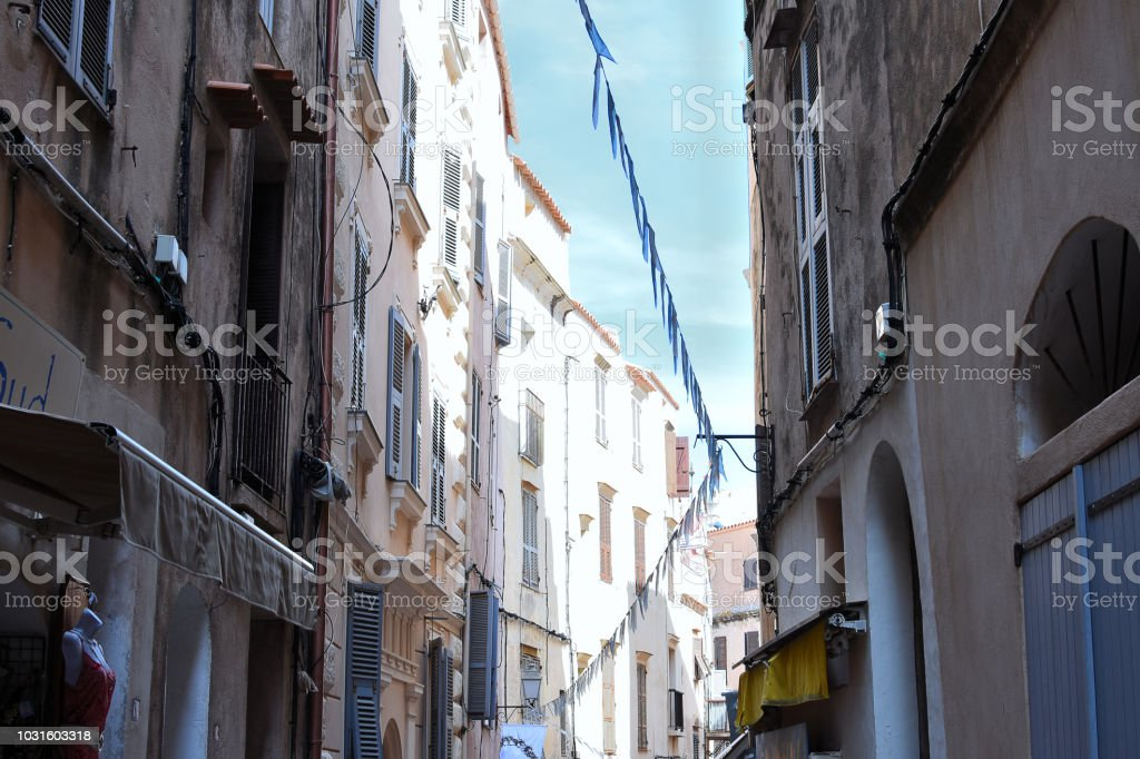 Bonifacio stock photo