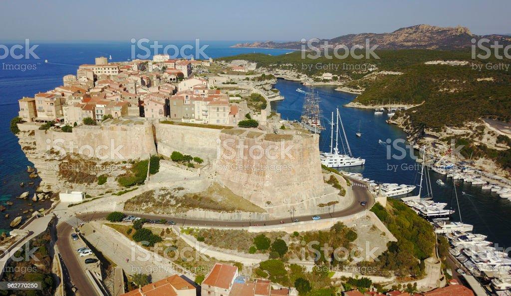 Bonifacio, Korsika, Frankreich - Lizenzfrei Ajaccio Stock-Foto