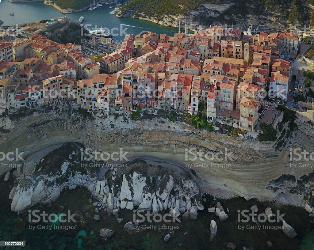 Bonifacio, Corsica, France stock photo