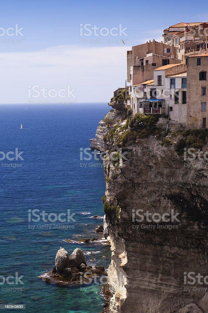 Bonifacio, Corsica royalty-free stock photo