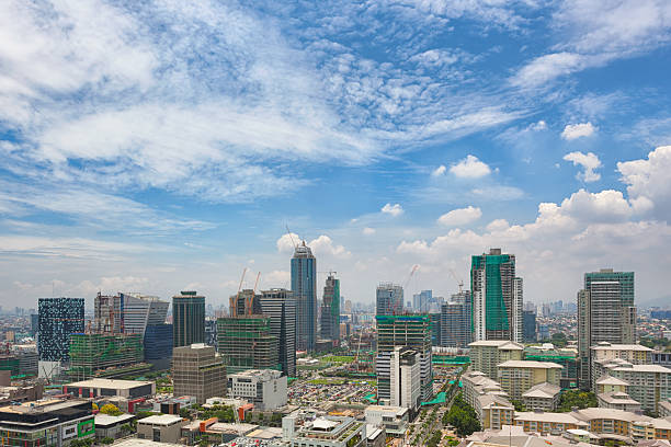 Bonifacio Global City stock photo