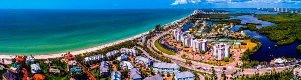 Bonita Beach,Bonita Springs, Florida stock photo