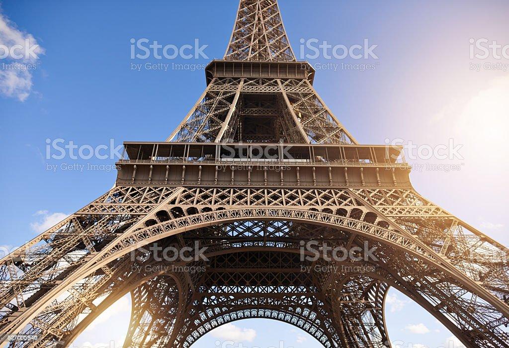 Bonjour Paris stock photo