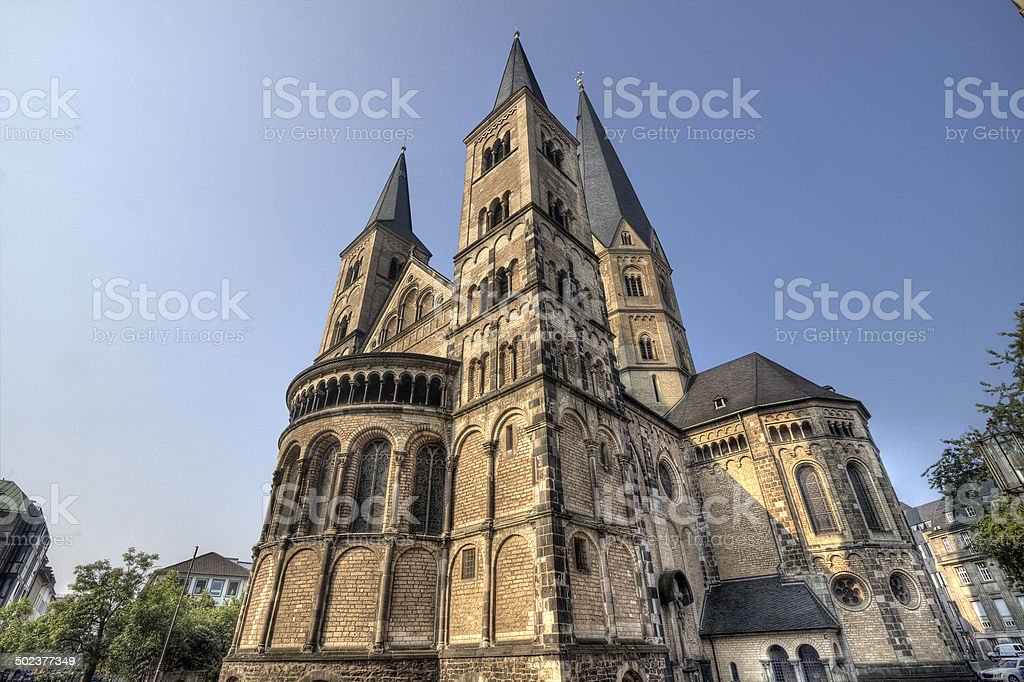 Bonn Palatine Chapel stock photo