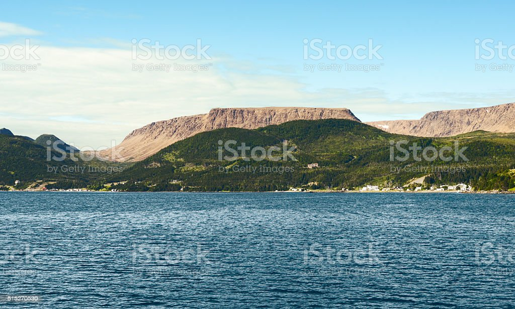 Bonne Bay, Gros Morne National Park, Newfoundland And Labrador, Canada stock photo