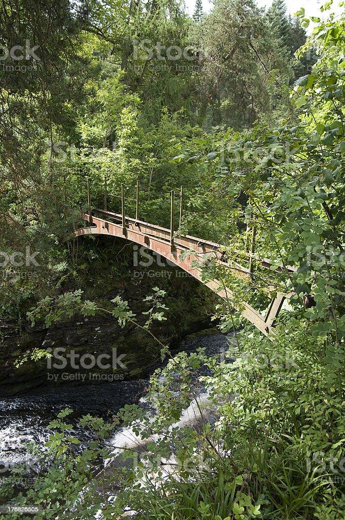 Bonnington Bridge stock photo
