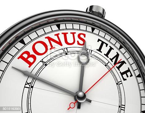 istock bonus time concept clock 501516393