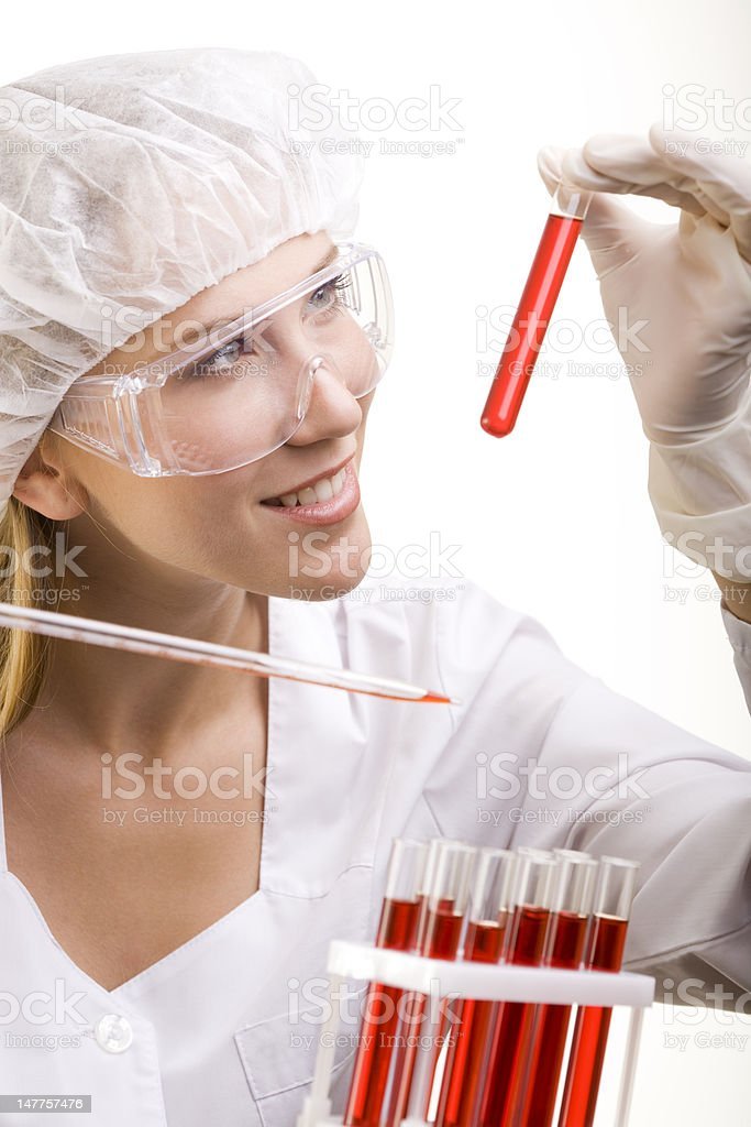 Bood Research royalty-free stock photo