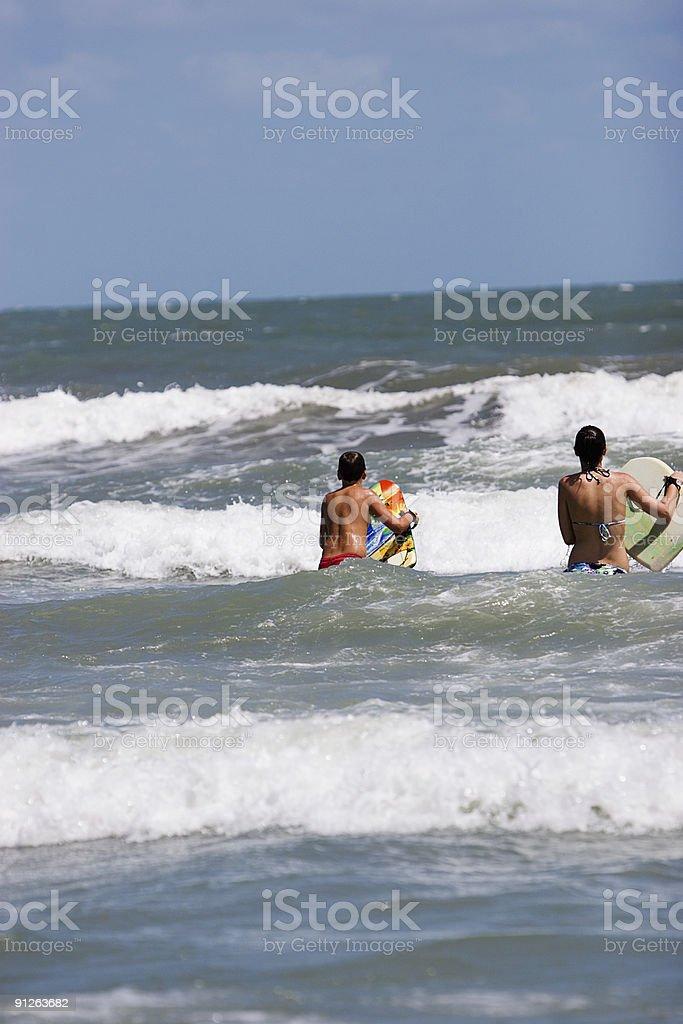 Bodyboard surfe - foto de acervo