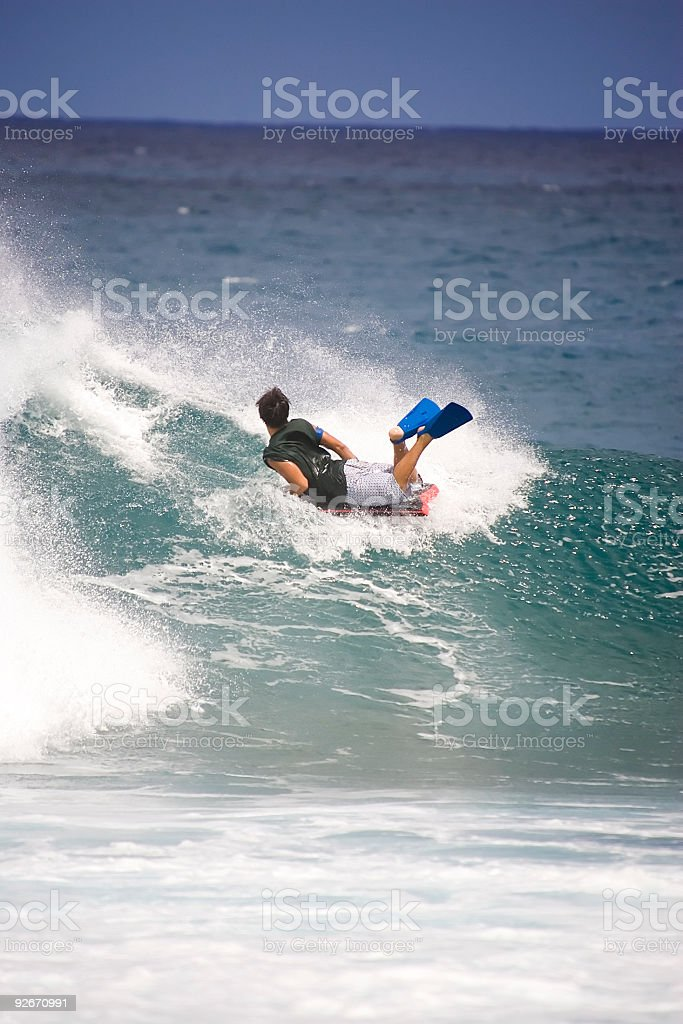 Boogie Boarder 360 royalty-free stock photo