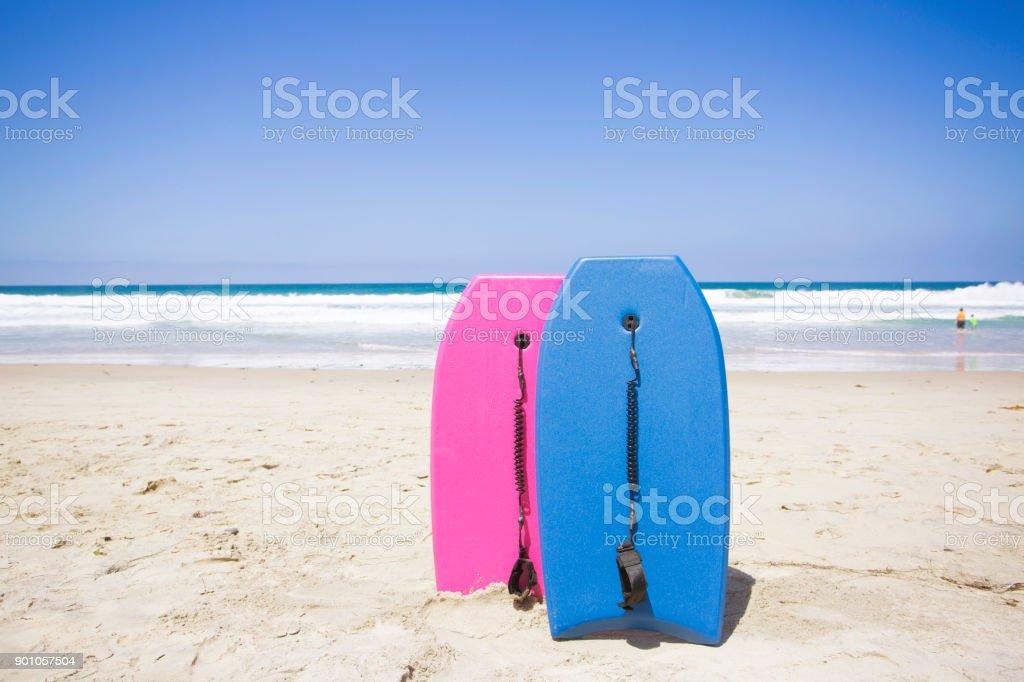 Boogie, embarcando em uma pitoresca Praia - foto de acervo