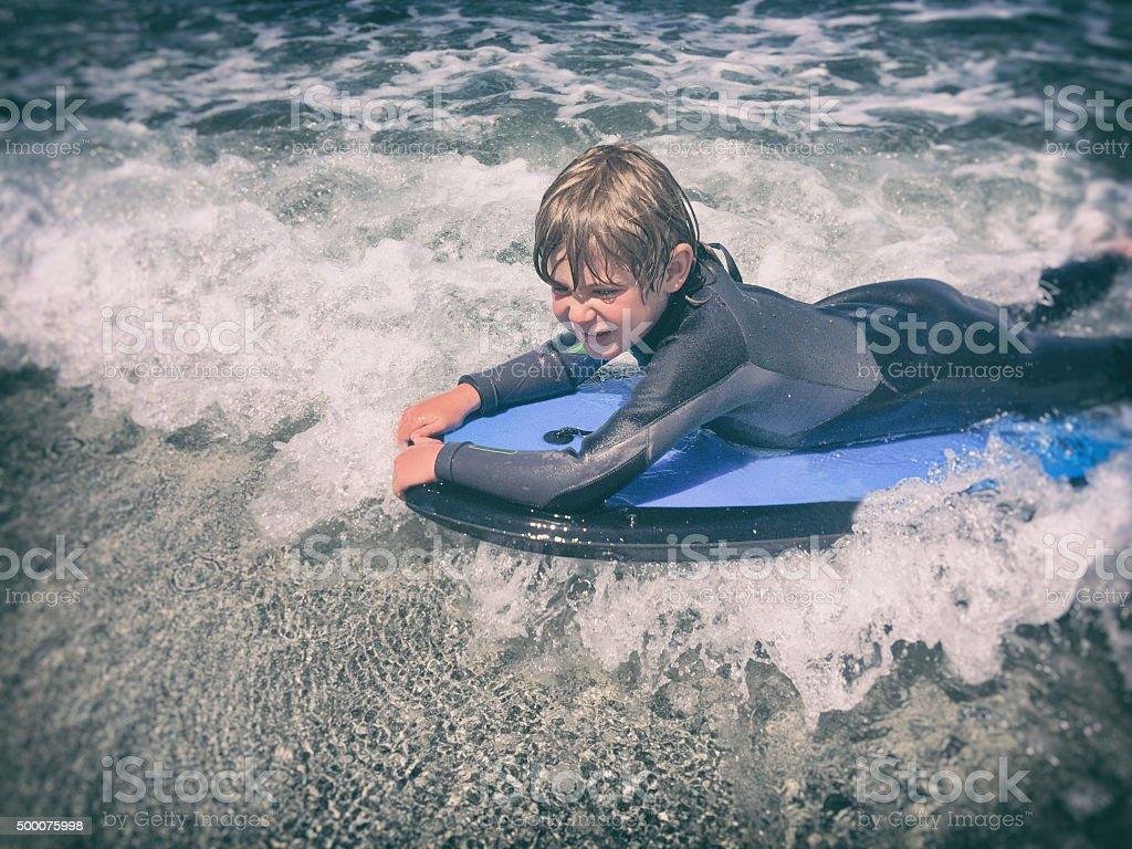 Bodyboard crianças - foto de acervo