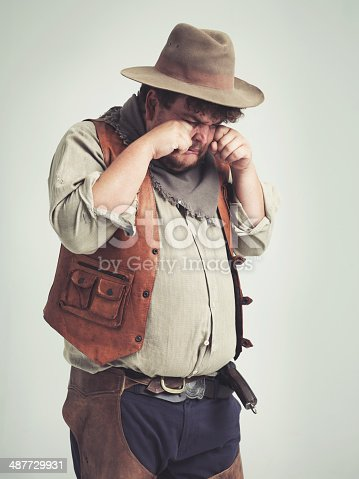 istock Boohoo, nobody wants to let me be an outlaw!!!! 487729931