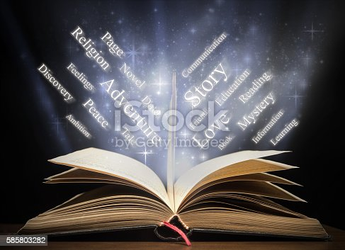 istock Book and words 585803282