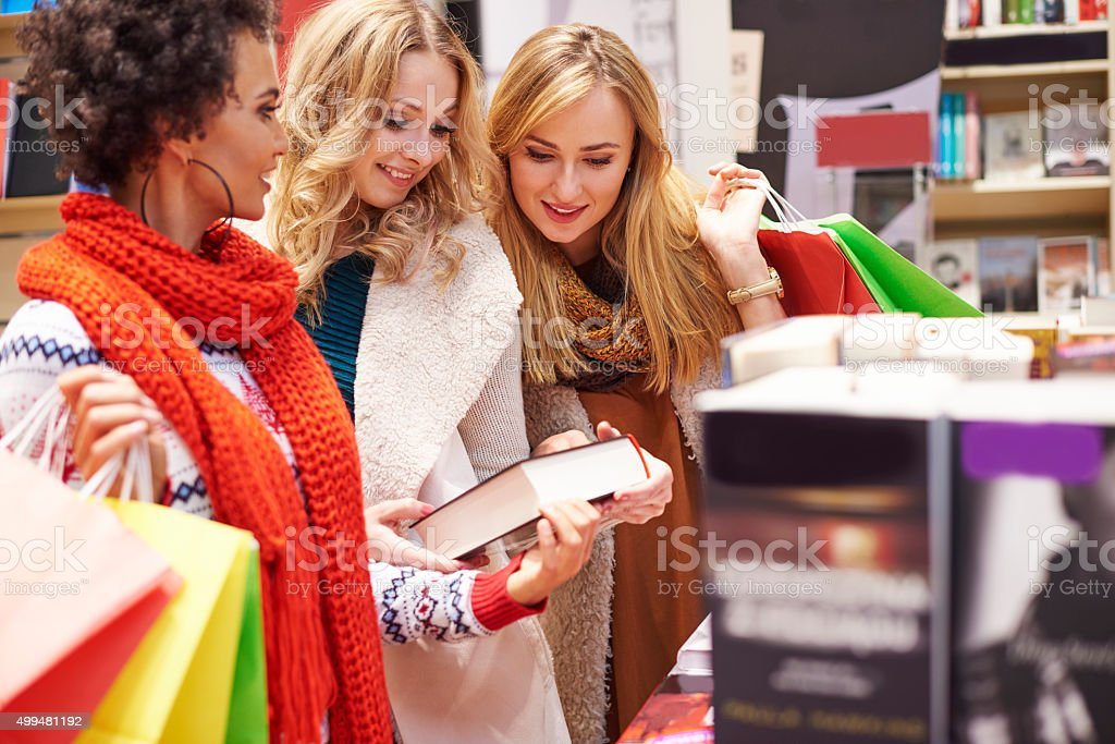 Book as good idea for Christmas present stock photo