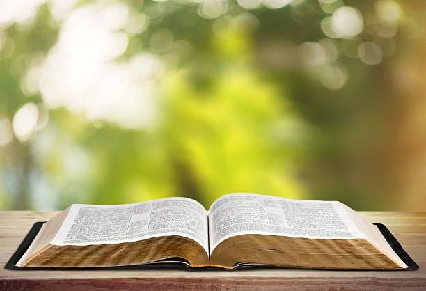 buch, bibel, geöffnet - psalm stock-fotos und bilder