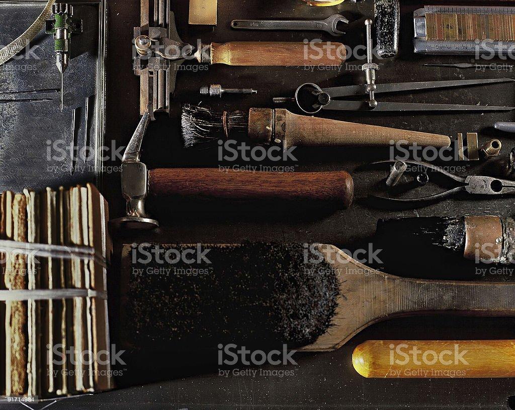 Buchbinden Tools – Foto