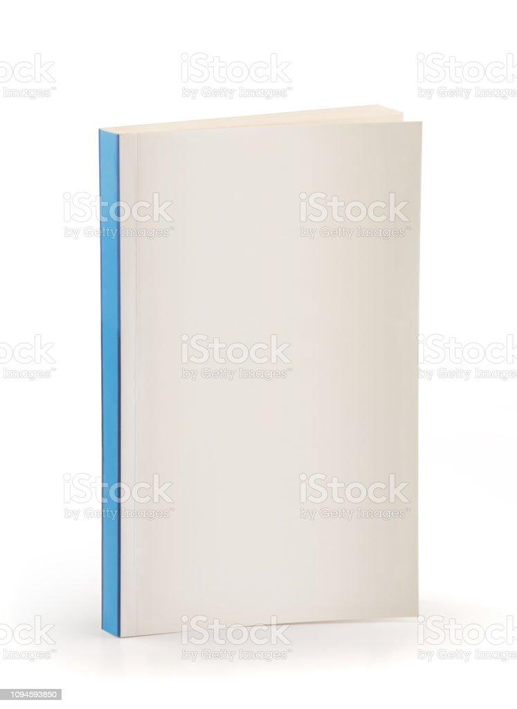 Buch blau zurück - Cipping Pfad – Foto