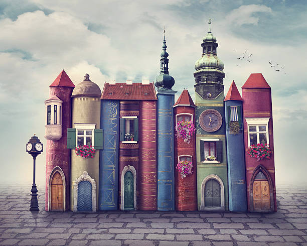 book city - literature stock pictures, royalty-free photos & images