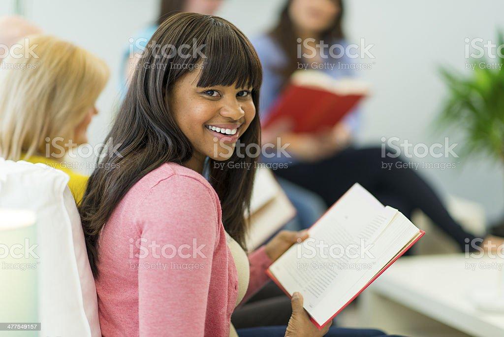 Book Club stock photo