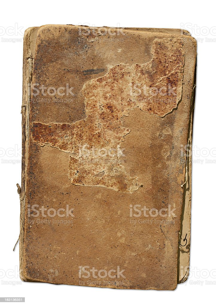 Book cover with Clipping Path. royalty-free stock photo
