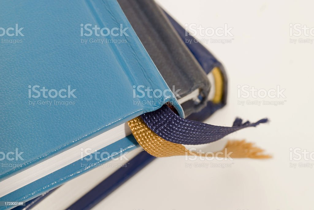 book covers with bookmark royalty-free stock photo