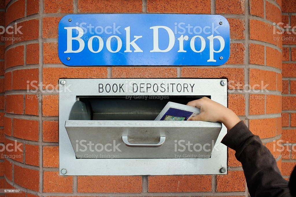 Book Drop royalty-free stock photo