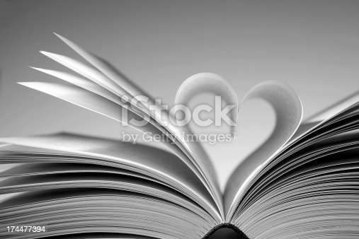 istock Book heart 174477394