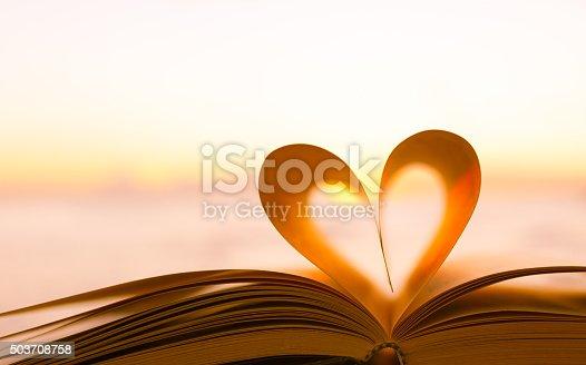 667312870 istock photo Book heart 503708758