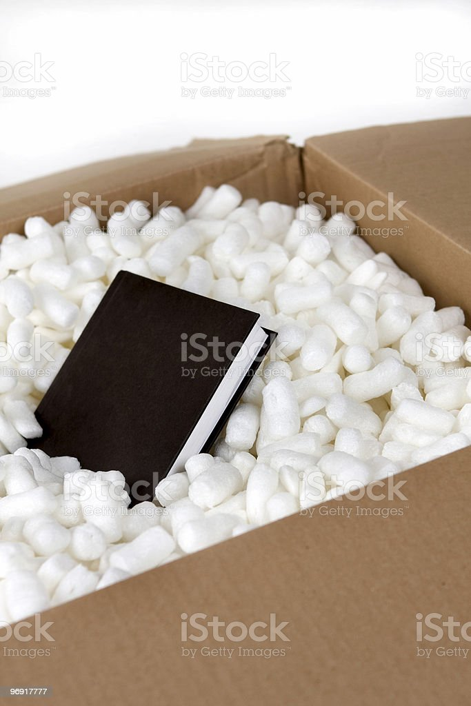 Book in a Box royalty-free stock photo