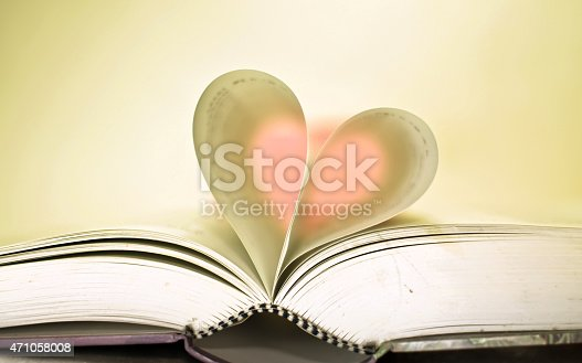 istock Book is love. 471058008