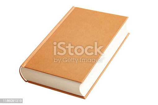 Book isolated on a white background.