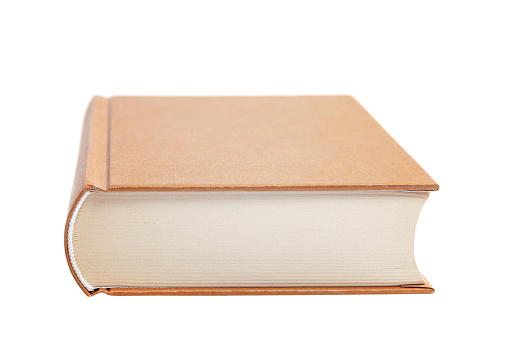 Book isolated on a white background