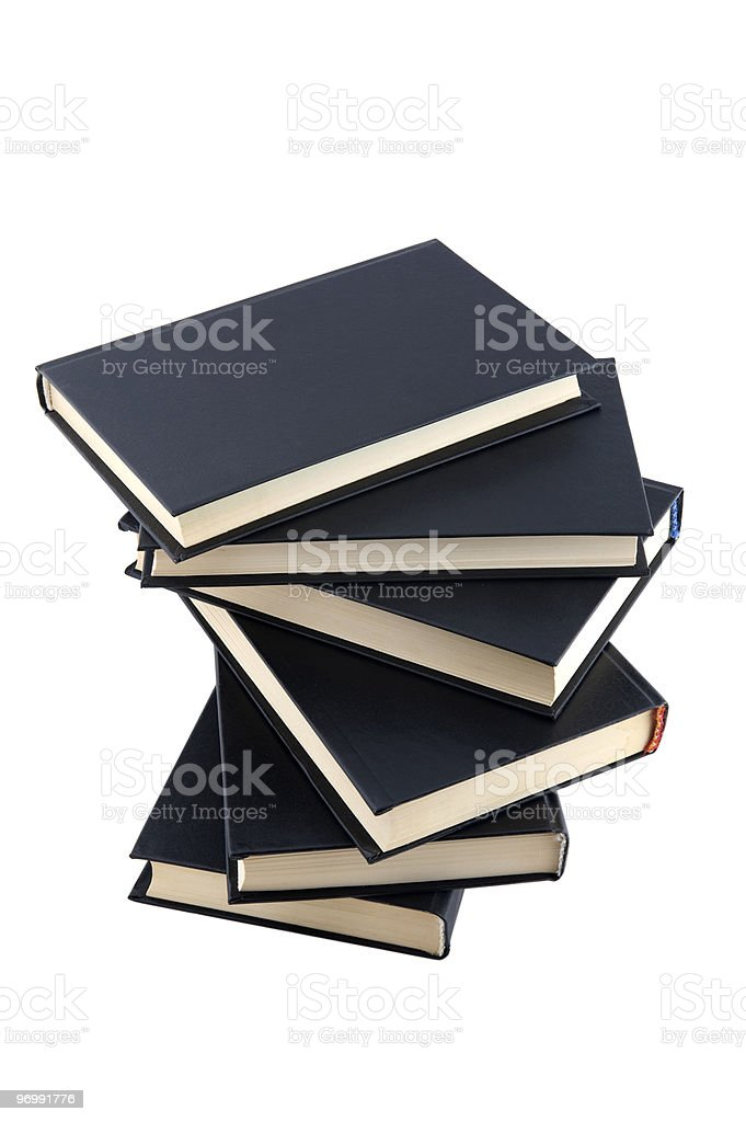 book isolated on white royalty-free stock photo