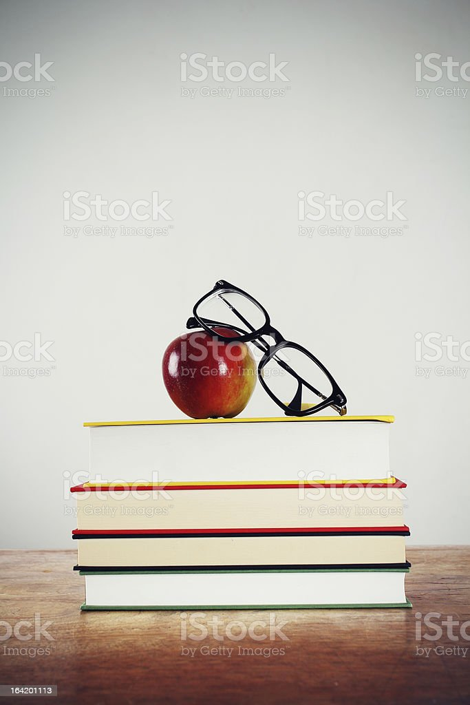Book lover royalty-free stock photo