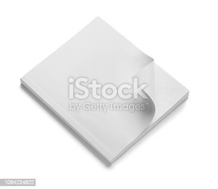 istock book notebook textbook white blank paper template 1094234822
