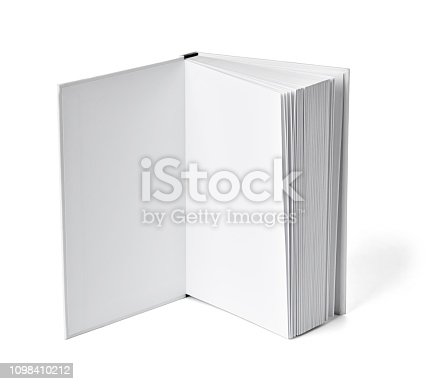 istock book notebook textbook white blank paper template 1098410212