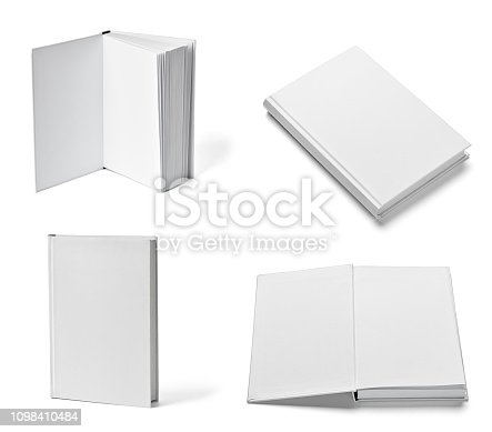 istock book notebook textbook white blank paper template 1098410484