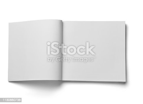 istock book notebook textbook white blank paper template 1130880738