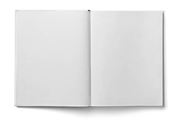book notebook textbook white blank paper template - hardcover book stock pictures, royalty-free photos & images