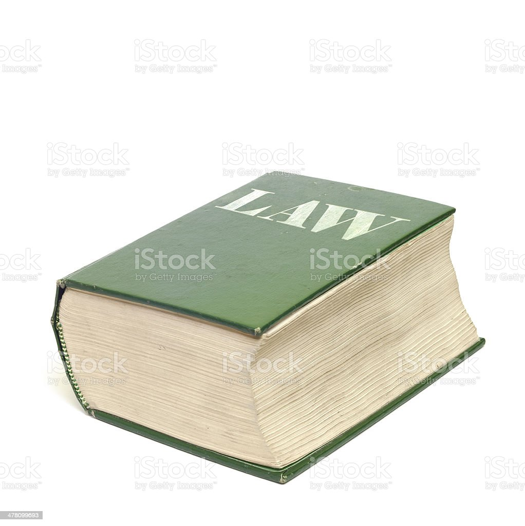 Book of Law royalty-free stock photo