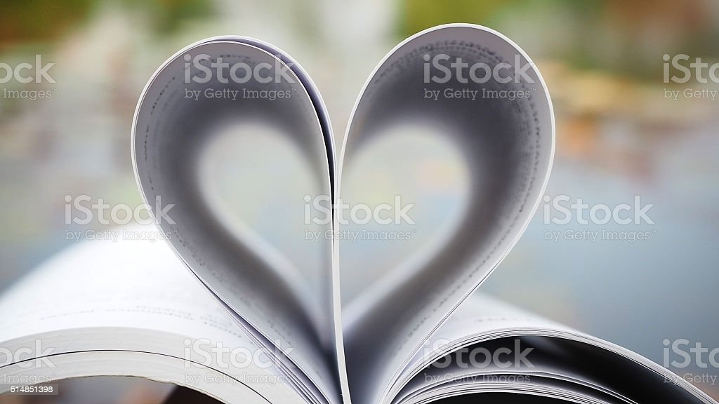 Book of love. Love books, Love reading, Love Story, Heart shape from...