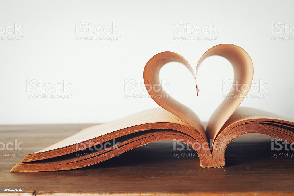 book of love stock photo