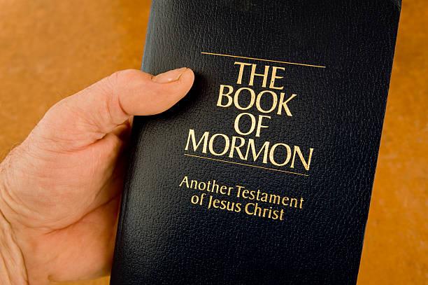 Book of Mormon stock photo