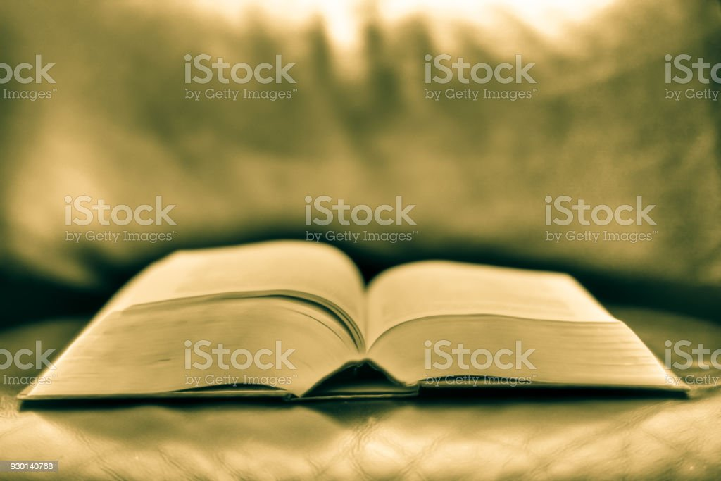 A book of poetry stock photo