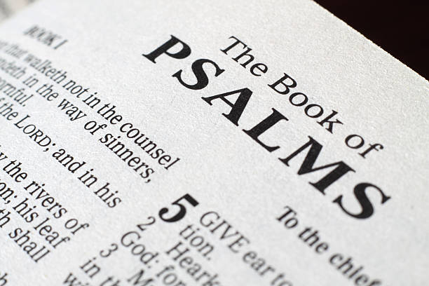 book of psalm - psalm stock-fotos und bilder