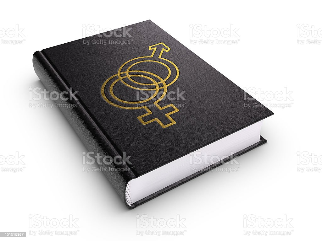 Book of Relationship (isolated) royalty-free stock photo